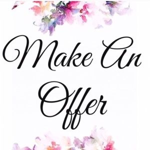 Don't hesitate to make an offer! ☺️